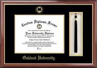 Oakland Golden Grizzlies Diploma Frame & Tassel Box