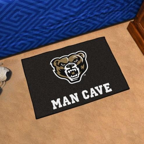 Oakland Golden Grizzlies Man Cave Starter Mat