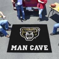 Oakland Golden Grizzlies Man Cave Tailgate Mat