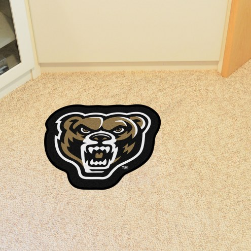 Oakland Golden Grizzlies Mascot Mat