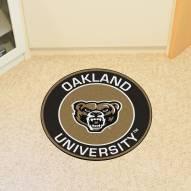 Oakland Golden Grizzlies Rounded Mat
