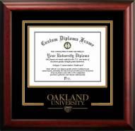 Oakland Golden Grizzlies Spirit Diploma Frame