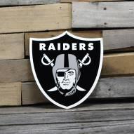 "Las Vegas Raiders 12"" Steel Logo Sign"