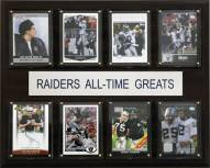 "Las Vegas Raiders 12"" x 15"" All-Time Greats Plaque"