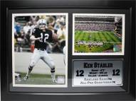 "Las Vegas Raiders 12"" x 18"" Ken Stabler Photo Stat Frame"