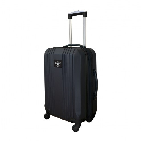 """Las Vegas Raiders 21"""" Hardcase Luggage Carry-on Spinner"""