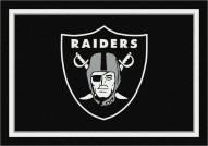 Oakland Raiders 4' x 6' NFL Team Spirit Area Rug