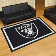Oakland Raiders 5' x 8' Area Rug