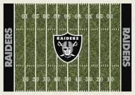 Las Vegas Raiders 6' x 8' NFL Home Field Area Rug