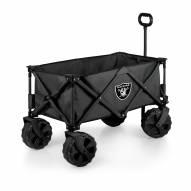 Las Vegas Raiders Adventure Wagon with All-Terrain Wheels
