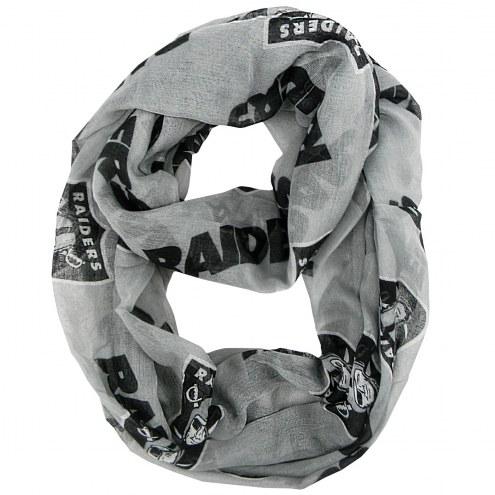 Oakland Raiders Alternate Sheer Infinity Scarf
