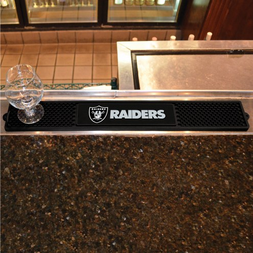 Oakland Raiders Bar Mat
