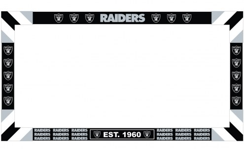 Oakland Raiders Big Game Monitor Frame