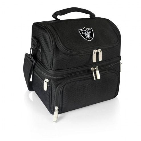 Oakland Raiders Black Pranzo Insulated Lunch Box