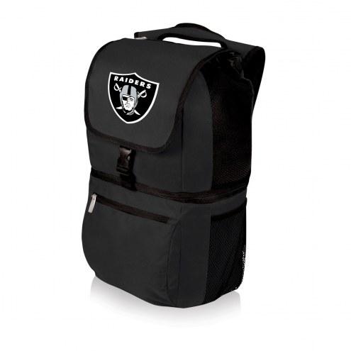 Las Vegas Raiders Black Zuma Cooler Backpack