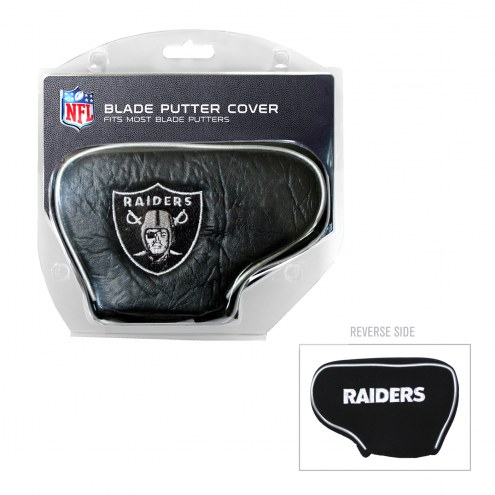 Oakland Raiders Blade Putter Headcover