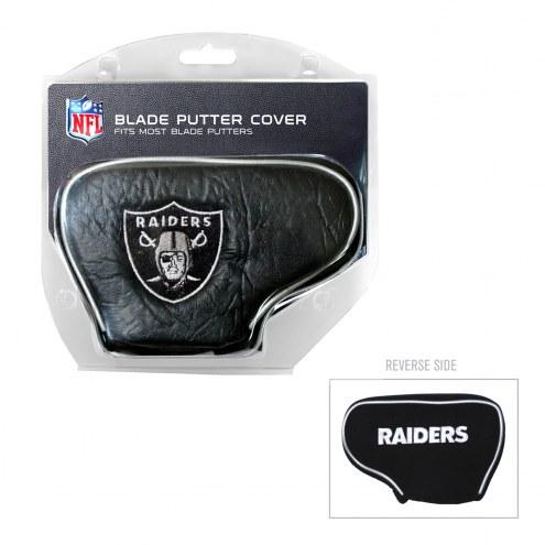 Las Vegas Raiders Blade Putter Headcover