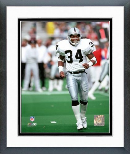 Oakland Raiders Bo Jackson Action Framed Photo