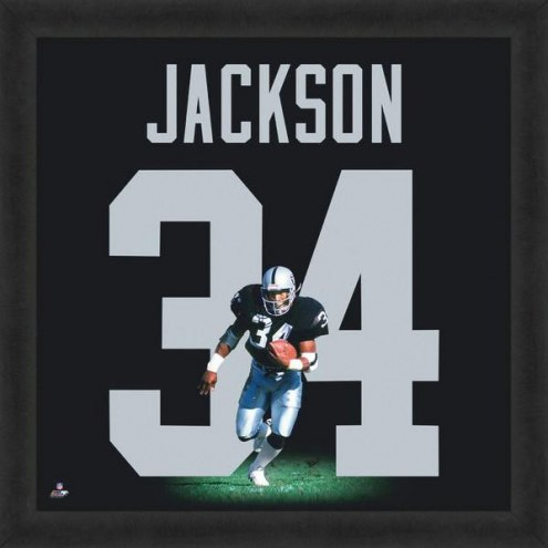 Oakland Raiders Bo Jackson Uniframe Framed Jersey Photo