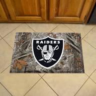Las Vegas Raiders Camo Scraper Door Mat