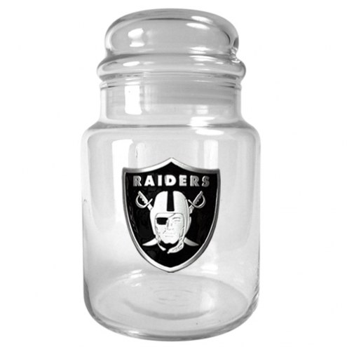 Oakland Raiders Candy Jar