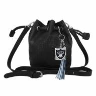 Las Vegas Raiders Charming Mini Bucket Bag