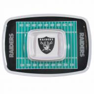 Oakland Raiders Chip & Dip Tray