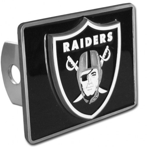 Las Vegas Raiders Class II and III Hitch Cover