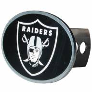 Las Vegas Raiders Class II and III Oval Metal Hitch Cover