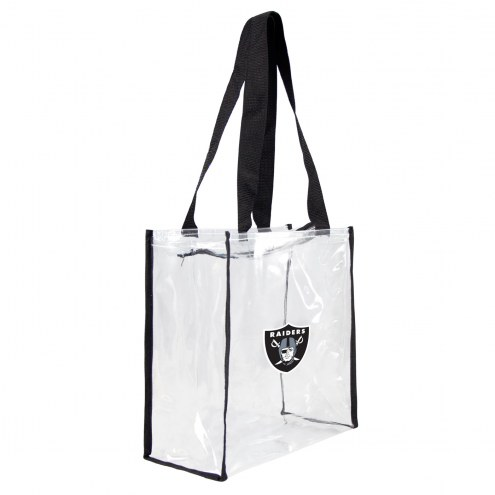Las Vegas Raiders Clear Square Stadium Tote