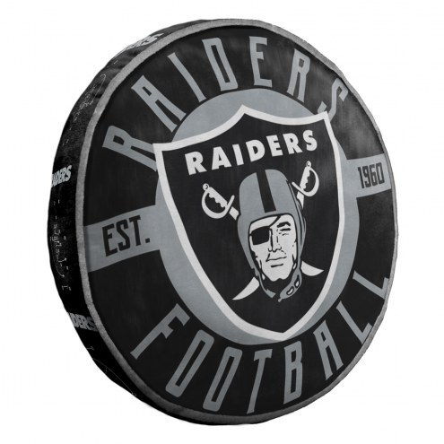 Oakland Raiders Cloud Travel Pillow