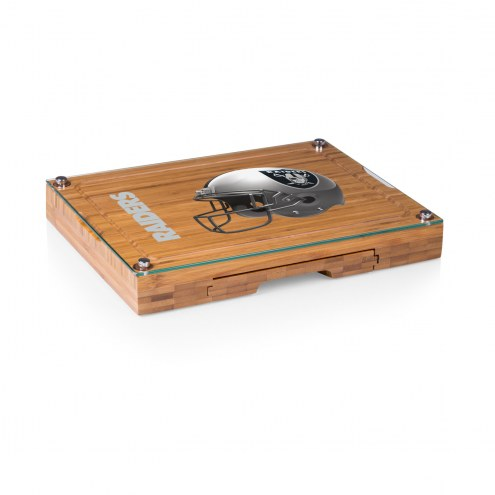 Las Vegas Raiders Concerto Bamboo Cutting Board