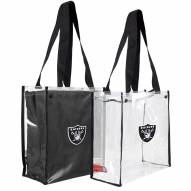 Las Vegas Raiders Convertible Clear Tote