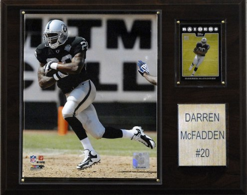 "Las Vegas Raiders Darren McFadden 12 x 15"" Player Plaque"