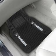 Las Vegas Raiders Deluxe Car Floor Mat Set