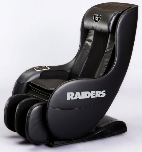 Las Vegas Raiders Deluxe Gaming Massage Chair