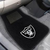 Las Vegas Raiders Embroidered Car Mats