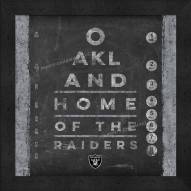 Las Vegas Raiders Eye Chart
