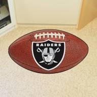 Las Vegas Raiders Football Floor Mat