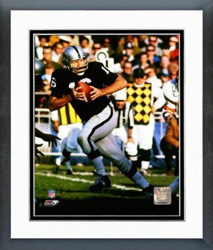 Oakland Raiders George Blanda 1973 Action Framed Photo