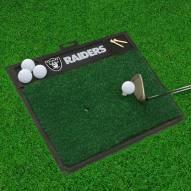 Las Vegas Raiders Golf Hitting Mat