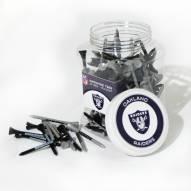 Las Vegas Raiders 175 Golf Tee Jar
