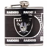 Oakland Raiders Hi-Def Stainless Steel Flask