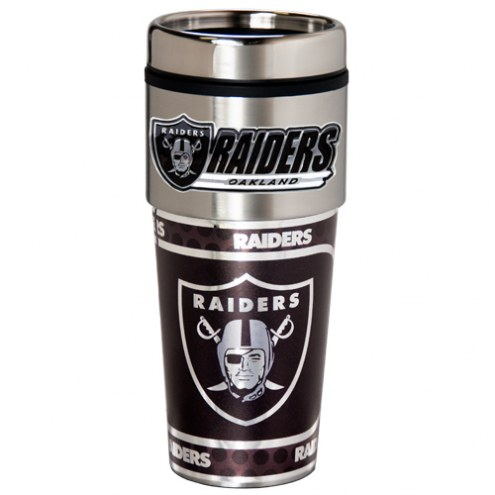 Las Vegas Raiders Hi-Def Travel Tumbler