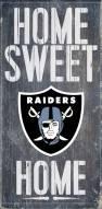 Las Vegas Raiders Home Sweet Home Wood Sign