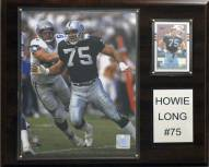 """Oakland Raiders Howie Long 12 x 15"""" Player Plaque"""