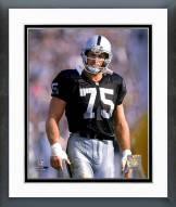 Oakland Raiders Howie Long Action Framed Photo