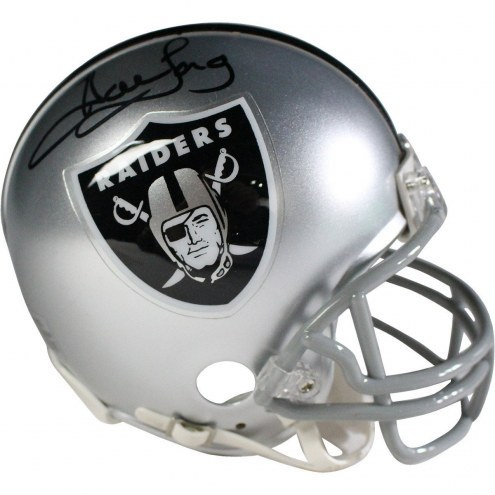 Oakland Raiders Howie Long Signed Mini Helmet