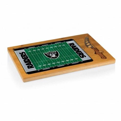 Oakland Raiders Icon Cutting Board