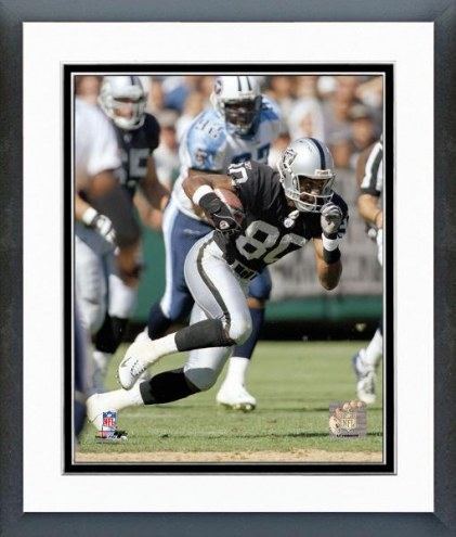 Oakland Raiders Jerry Rice Action Framed Photo
